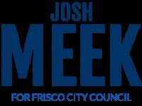 vote meek logo centered dark blue